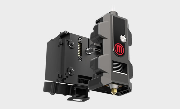 Makerbot smart extruder and carriage assembly